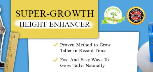 Super-Growth,grow taller naturally !